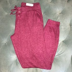 Justice Lace Up Joggers
